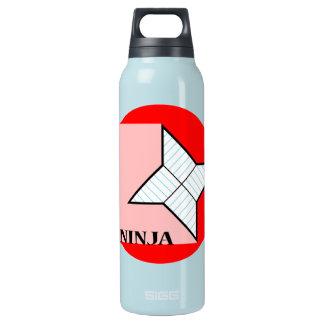 Estrella de papel de Ninja Botella Isotérmica De Agua