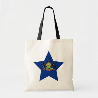 Estrella de Pennsylvania Bolsas De Mano