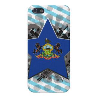 Estrella de Pennsylvania iPhone 5 Fundas