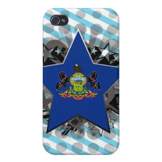 Estrella de Pennsylvania iPhone 4 Funda