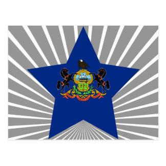 Estrella de Pennsylvania Postal