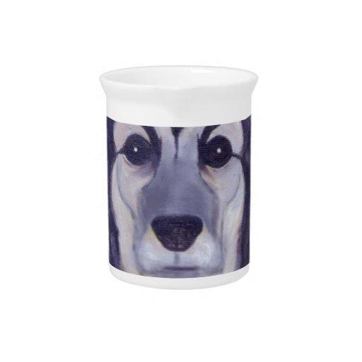 Estrella de perro jarrón