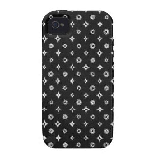 Estrella de plata Case-Mate iPhone 4 funda
