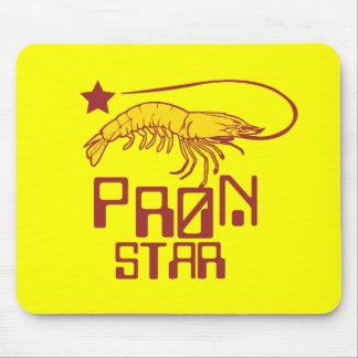 Estrella de Pron Alfombrillas De Ratón