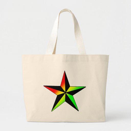 Estrella de Rasta Bolsa Tela Grande