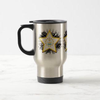 Estrella de Rhode Island Tazas De Café