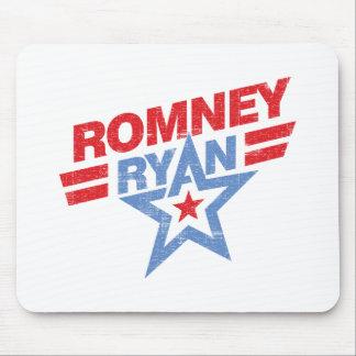 Estrella de Romney Ryan 2012 Alfombrillas De Ratones