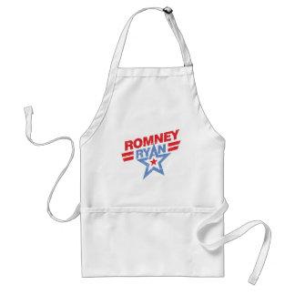 Estrella de Romney Ryan 2012 Delantal