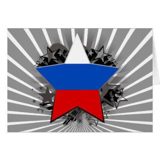 Estrella de Rusia Felicitaciones