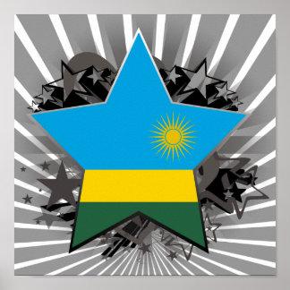 Estrella de Rwanda Posters