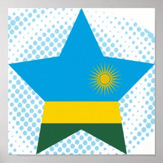 Estrella de Rwanda Poster