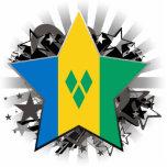 Estrella de San Vicente y las Granadinas Esculturas Fotográficas