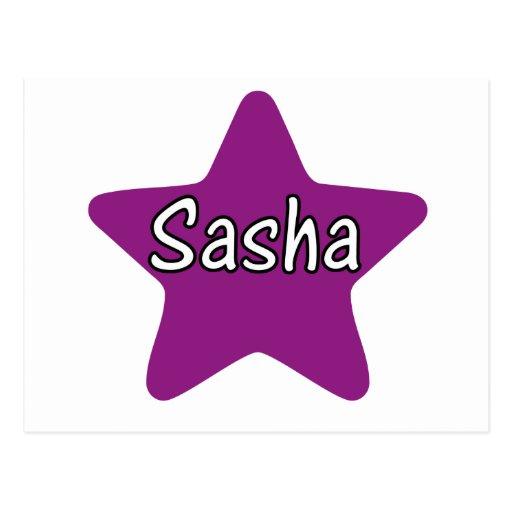 Estrella de Sasha Postales