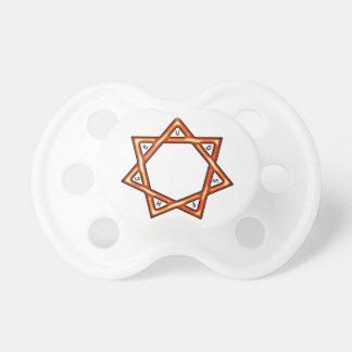 Estrella de siete regalos chupetes