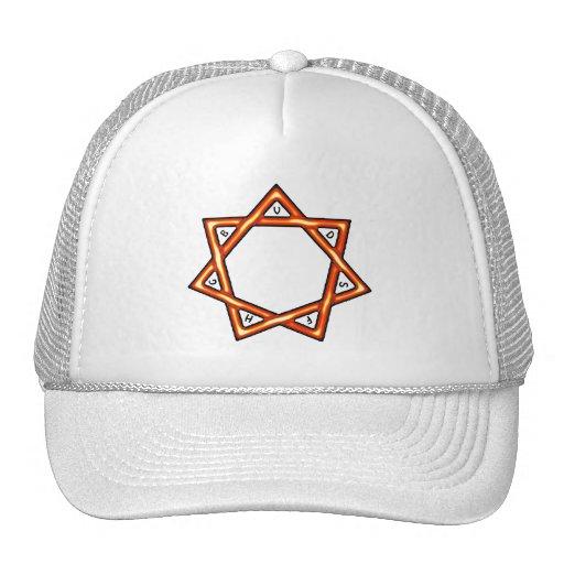 Estrella de siete regalos gorras de camionero