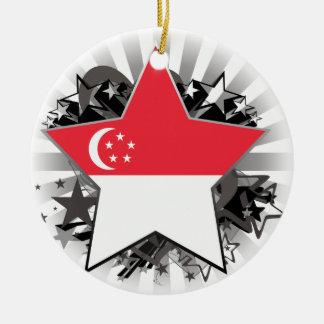 Estrella de Singapur Ornamentos De Reyes