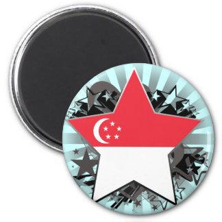 Estrella de Singapur Iman De Nevera
