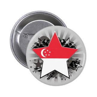 Estrella de Singapur Pin