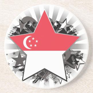 Estrella de Singapur Posavasos Manualidades