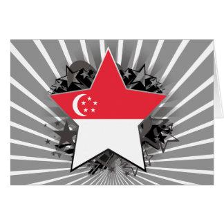 Estrella de Singapur Tarjeton