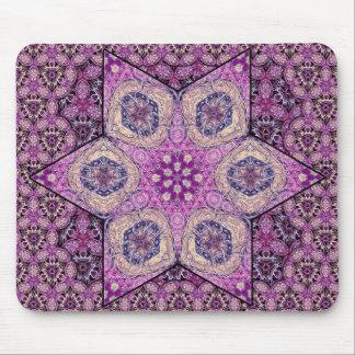 Estrella de Siphonophorae - púrpura Tapete De Ratones