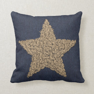 Estrella de Stitchery Cojín