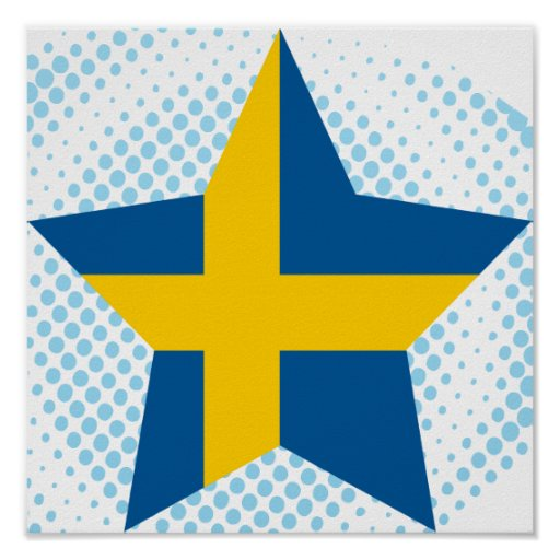 Estrella de Suecia Poster