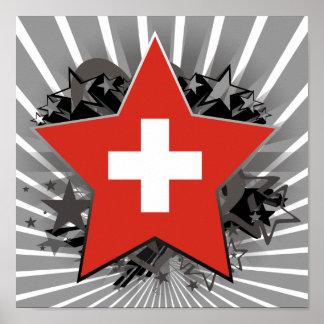 Estrella de Suiza Impresiones
