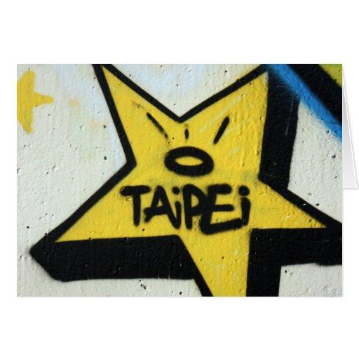 Estrella de Taipei Tarjeton