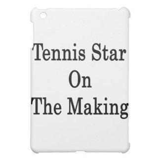 Estrella de tenis en la fabricación