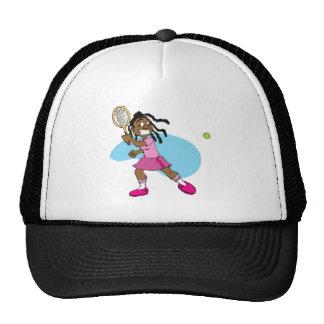 Estrella de tenis gorras de camionero