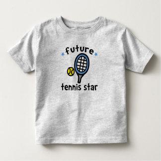 Estrella de tenis playera de bebé