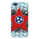 Estrella de Tennessee iPhone 5 Protectores