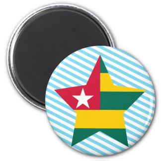 Estrella de Togo Imán De Nevera