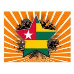 Estrella de Togo Tarjetas Postales
