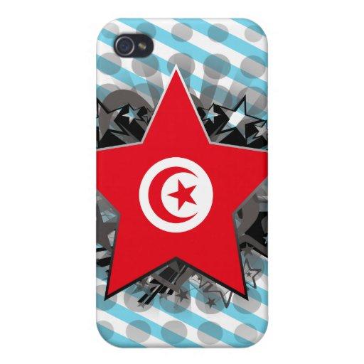 Estrella de Túnez iPhone 4/4S Funda