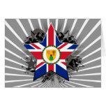 Estrella de Turks and Caicos Islands Tarjeton