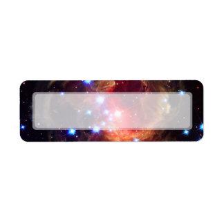 Estrella de V838 Monocerotis (telescopio de Etiqueta De Remite