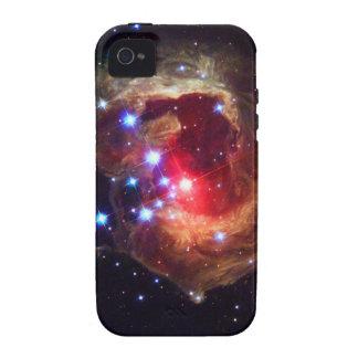 Estrella de V838 Monocerotis telescopio de Hubble Case-Mate iPhone 4 Fundas
