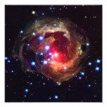 Estrella de V838 Monocerotis (telescopio de Hubble Arte Con Fotos