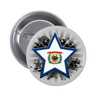 Estrella de Virginia Occidental Pin