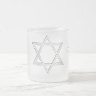 Estrella de Yom Kipur/de Jánuca de la taza de Davi