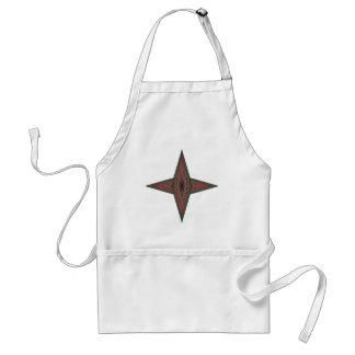 Estrella de Yule Delantal