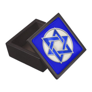 Estrella del מגןדוד de David Caja De Joyas De Calidad