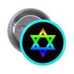Estrella del arco iris de David Pin