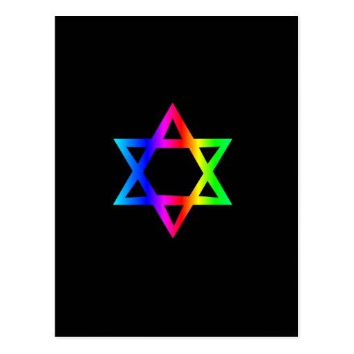 Estrella del arco iris de David Postal