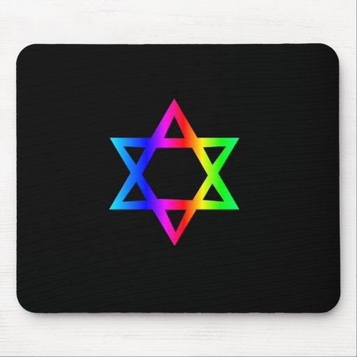 Estrella del arco iris de David Tapetes De Raton