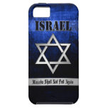Estrella del azul y de la plata de David iPhone 5 Case-Mate Carcasa