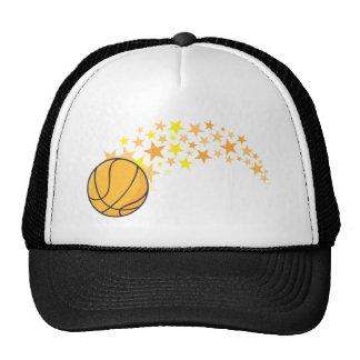 Estrella del baloncesto brillante gorras