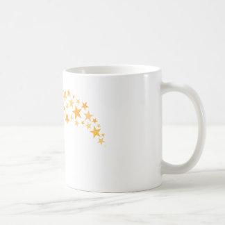 Estrella del baloncesto brillante taza